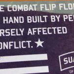 Combat Flip Flops Manufactures Product in Countries Ravaged by War
