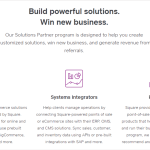 Square Solutions Partners Service Aimed at Small Businesses
