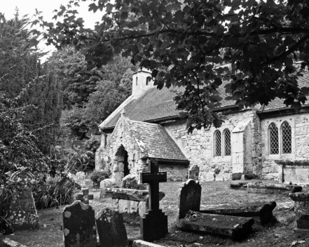 The Old Church of St Boniface Bonchurch Isle Of Wight