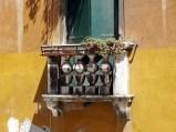 A tiny balcony