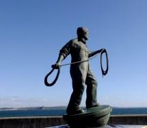 memorial to lost fishermen