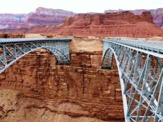 Navajo Bridges (old and new)