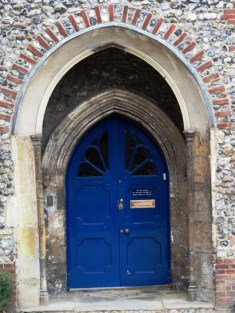 The Blue Door - Headmaster's office