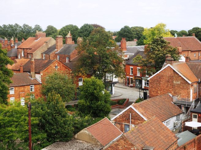 View onto Bailgate