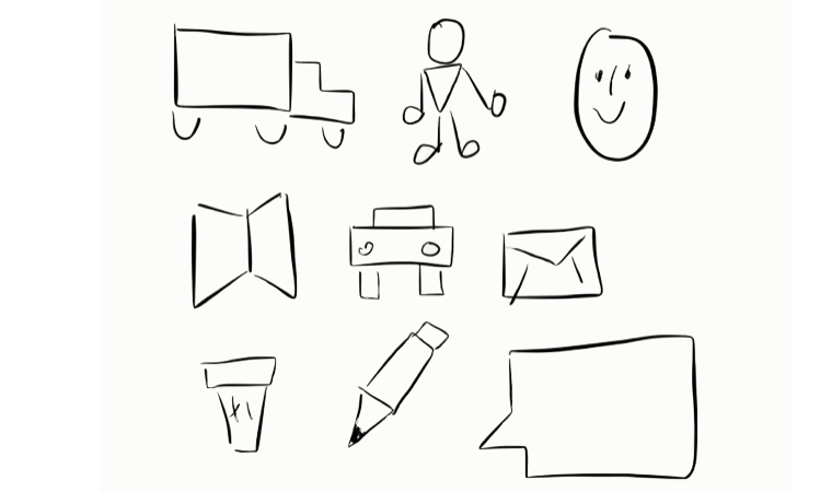 More Whiteboard Drawing Tips: Simple Shape Nouns