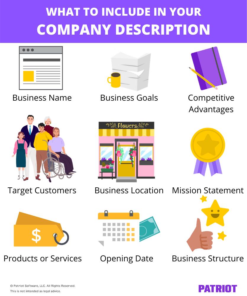 Company Description - Write Traditional Business Plan - Guidehut.in