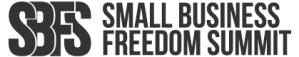 Small Business Freedom Summit Logo | https://smallbusinessfreedomsummit.com/