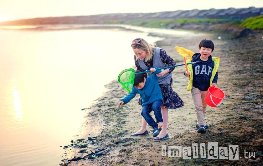 台北桃園新竹兒童寫真 小日子寫真館 觀音海邊 (4)