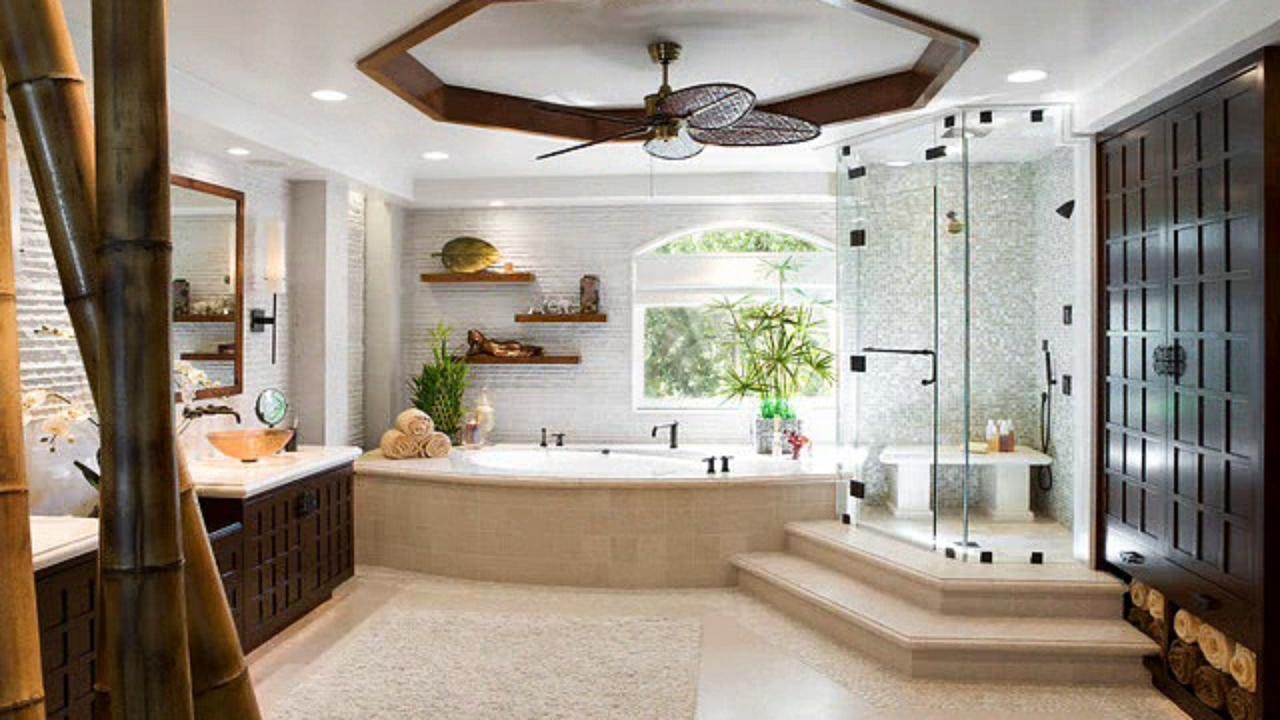 Oriental Style Bathroom Design Ideas