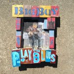 Big Boy Henry, Mixed Media, Acrylic on wood