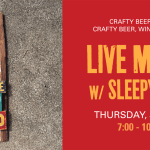 Sleepy Tom Crafty live music July 12