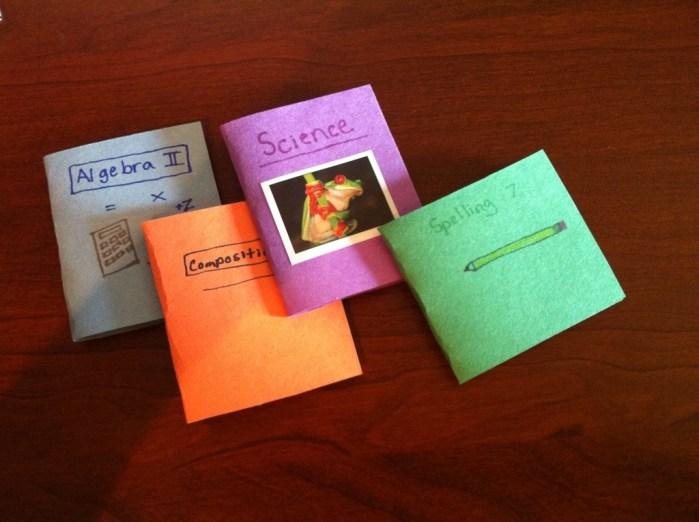 Make Doll School Supplies!