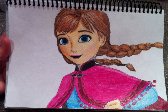 My Anna Drawing