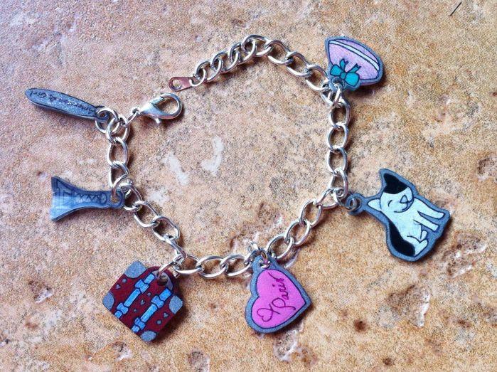 Make Grace's charm bracelet