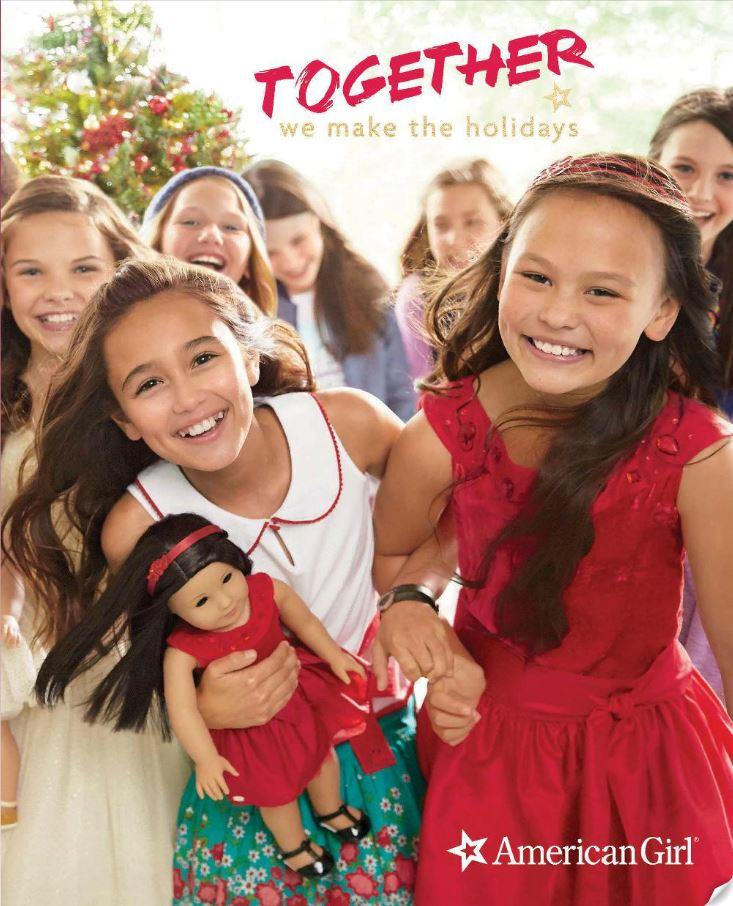 American Girl Holiday Catalog Photos - 2015