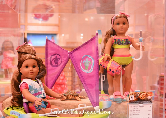 Isabelle's Trip to the American Girl Store