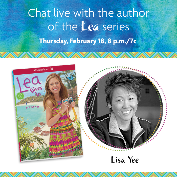 American Girl Live Chat – With Lisa Yee