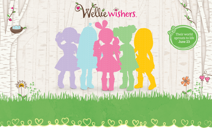 Wellie Wishers – Sneak Peek on the AG Site