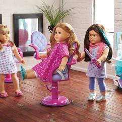 Doll Salon Chair Grosfillex Resin Chairs New Truly Me Spa Collection  Leaked Small Dolls In A