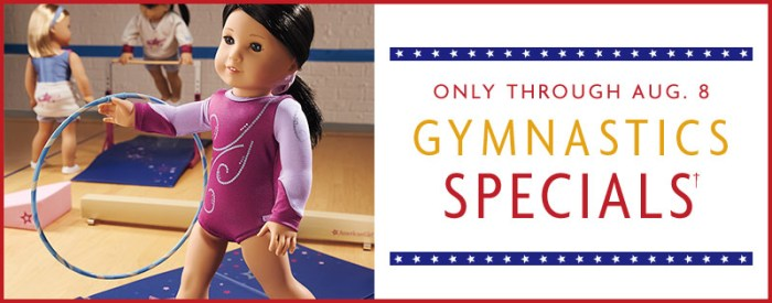 American Girl Sale – A+ Savings Await and Gymnastics Bundles