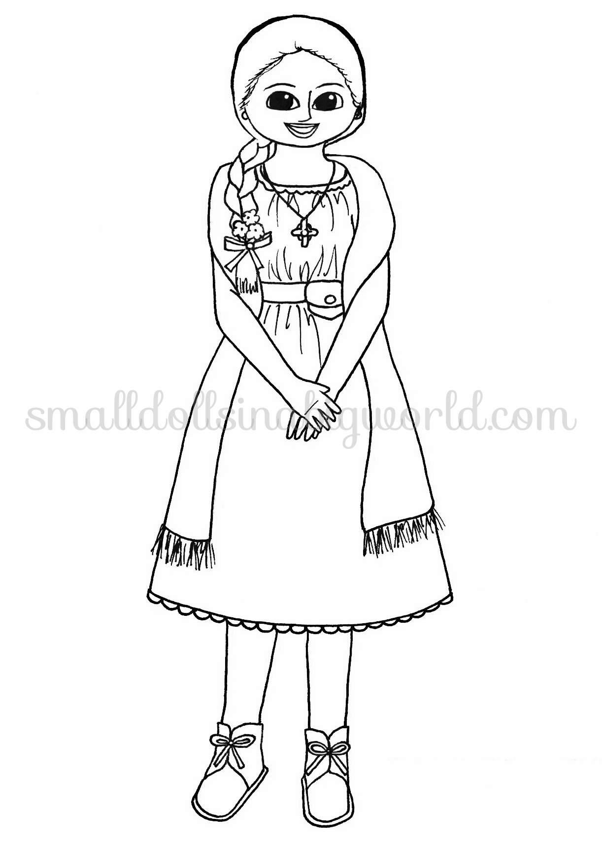 american doll coloring pages paper dolls stars american