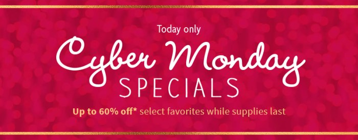 AG's Cyber Monday Sale 2016