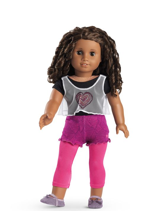 Image result for Gabriela Mcbride American girl doll rehearsal outfit