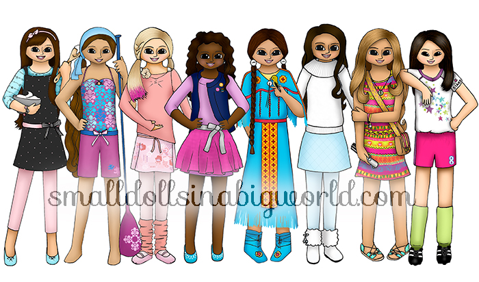 My New Doll Drawing – 2017