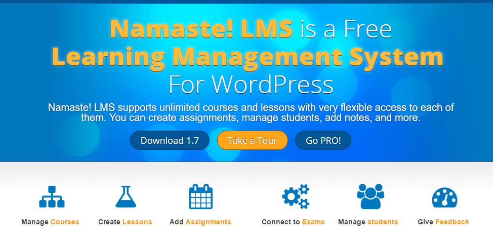 Namaste Lms Free LMS WordPress Plugins