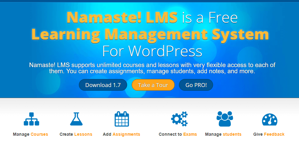 Namaste Lms Free LMS WordPress Plugins