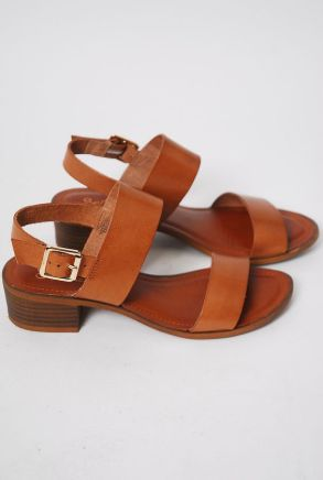 Leather sandals by Cheeky Peach
