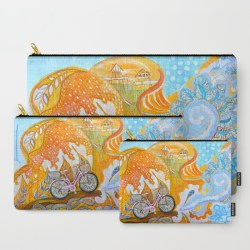 ravel-the-world-on-a-doily-bicycle-carry-all-pouches