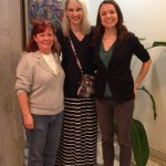 Me with fellow GSP members Susan and Kathryn.