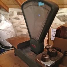 balance à farine - moulin de Keriolet (c) ea marzarte Small & beautiful