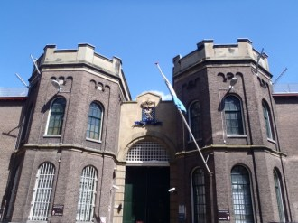 The prison takes a central place in the new neighbourhood