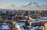 Yerevan, the capital of Armenia, with Mount Ararat in the backdrop (image by Serouj Ourishian)