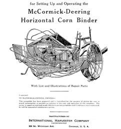 mccormick deering model m grain drill manual ihc international harvester [ 800 x 1100 Pixel ]