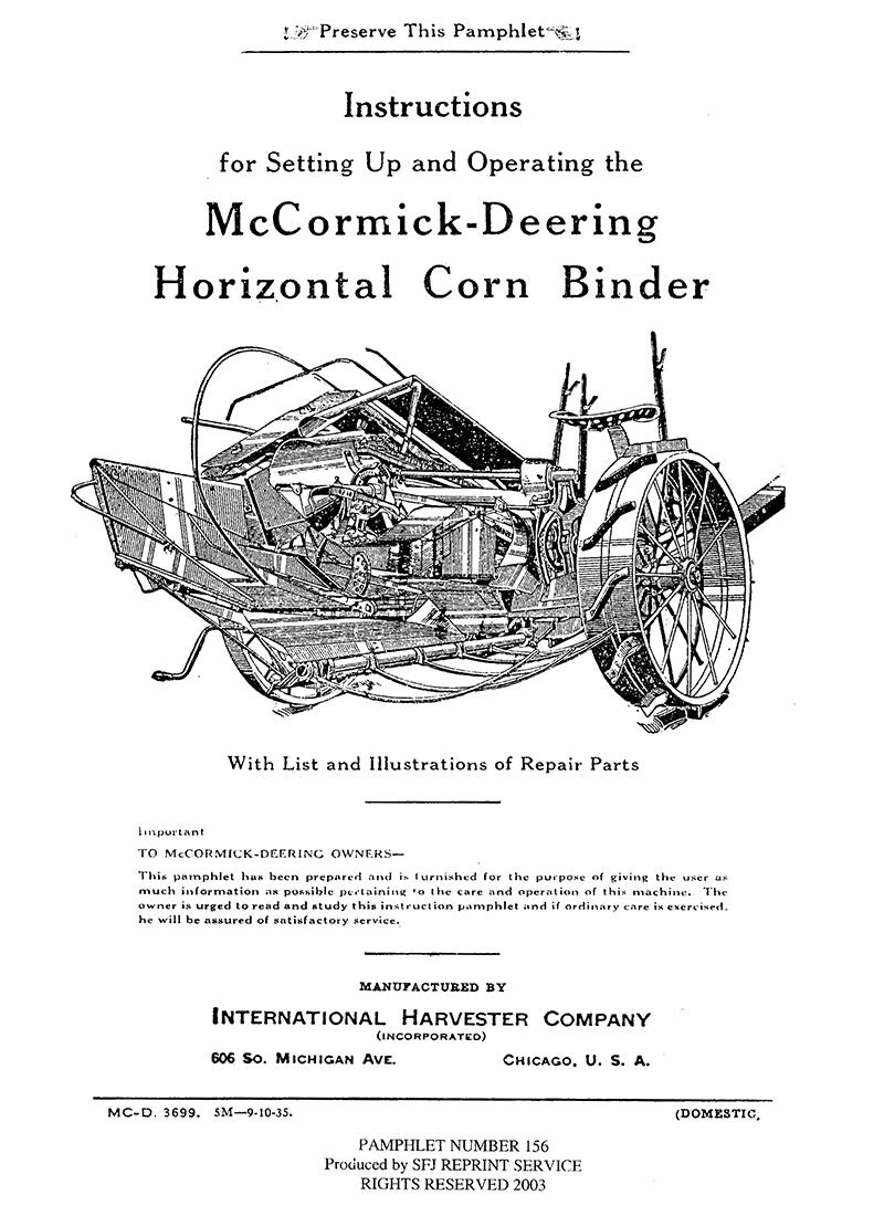 medium resolution of mccormick deering model m grain drill manual ihc international harvester