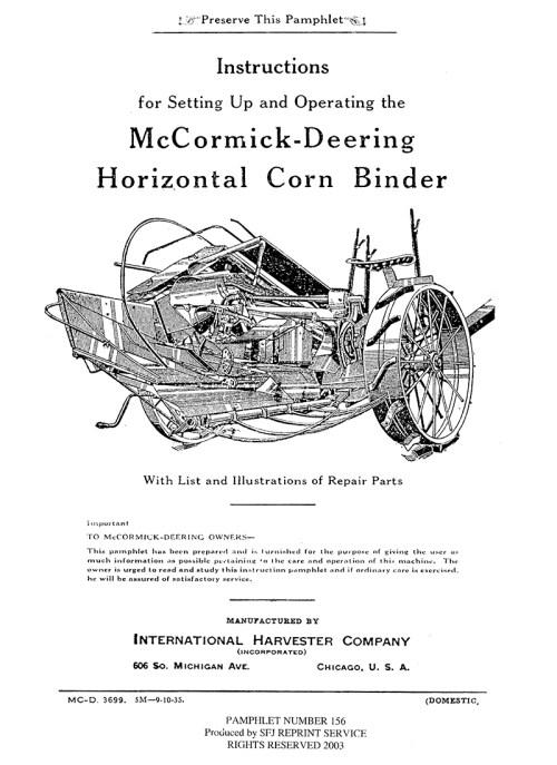 small resolution of mccormick deering model m grain drill manual ihc international harvester