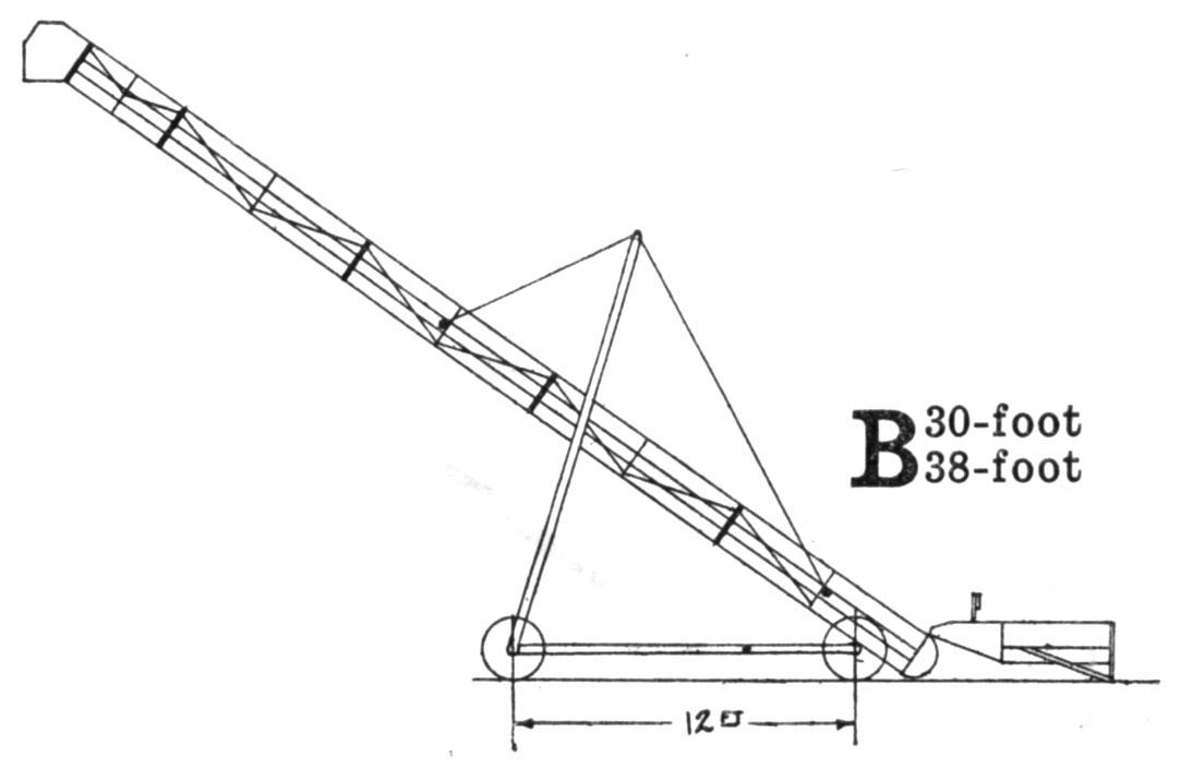 John Deere Portable Bridge-Trussed Grain Elevator