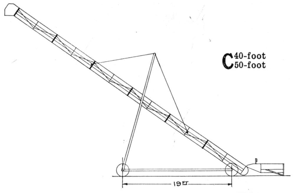 medium resolution of john deere portable bridge trussed grain elevator