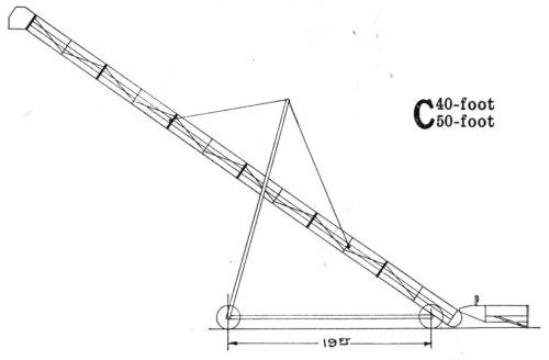 small resolution of john deere portable bridge trussed grain elevator
