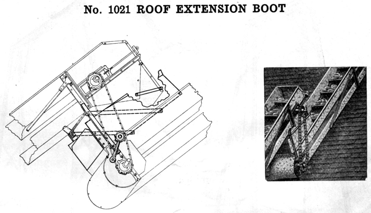 hight resolution of john deere portable bridge trussed grain elevator