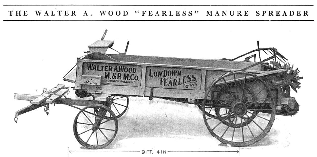 Fearless Manure Spreader