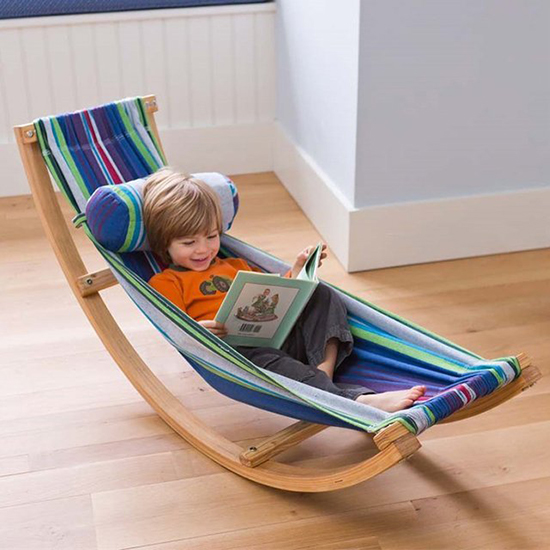 lounge chairs for kids rocking swivel living room hammock chair children s furniture decor small big