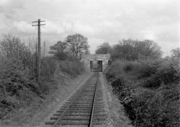 1st Herts Railtour 19 Colney Heath Lane Bridge ©