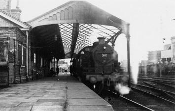 Abbey Stn 9 1946 Loco No 10 ©