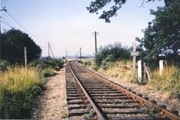 Between Nast Hyde & Smallford looking West 1968 - 4