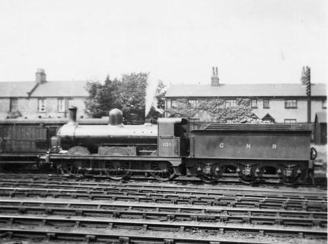 Branch Locos 3 Stirling No 101 Hatfield 1922