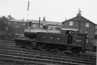 Branch Locos 6 J12 No 1537 Hatfield 1922